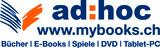 Fits in 160x50 adhoc mybooks.ch logo