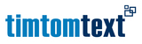 Fits in 160x50 logo timtomtext2011