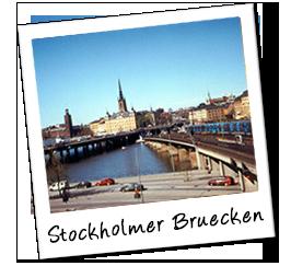 Polaroid schweden bruecken