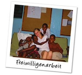 Polaroid afrika freiwilligenarbeit