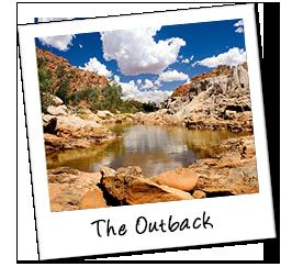 Polaroid australien outback
